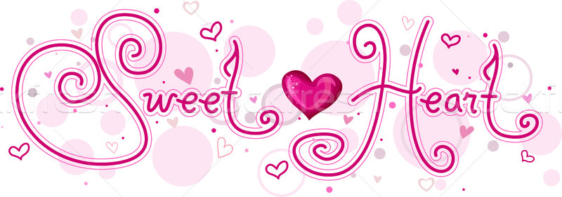 Sweetheart Stock photo © lenm