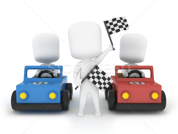 Car Race Stock photo © lenm