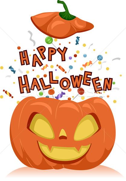 Happy Halloween Stock photo © lenm