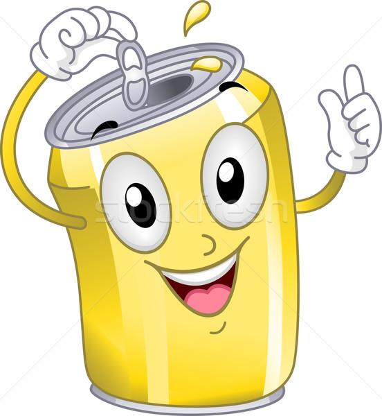 Stock photo: Soda Can Mascot