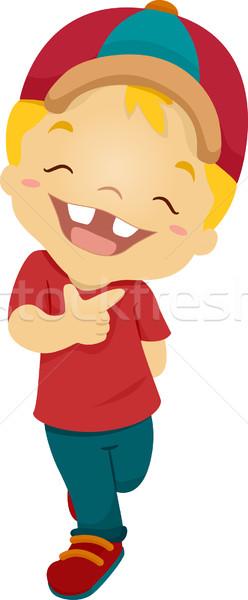 Happy Kid Stock photo © lenm