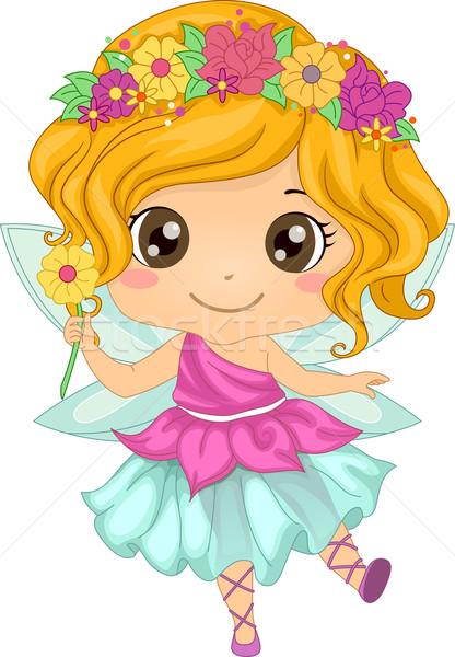 Fairy Girl Stock photo © lenm
