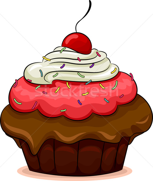 Cake Images In Cartoon : Pin Cartoon Kinderen Afbeelding Van Vector Download Gratis ...