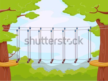 Park Bench Man Stock photo © lenm