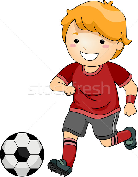 Stock photo: Soccer Boy