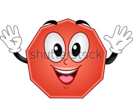 Mascot Blood Bag Stock photo © lenm