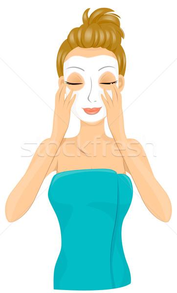 Facial Mask Stock photo © lenm