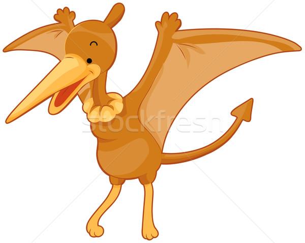 Cute Pterodactyl Stock photo © lenm