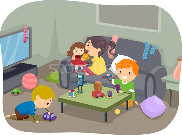 Children's Toys Stock photo © lenm