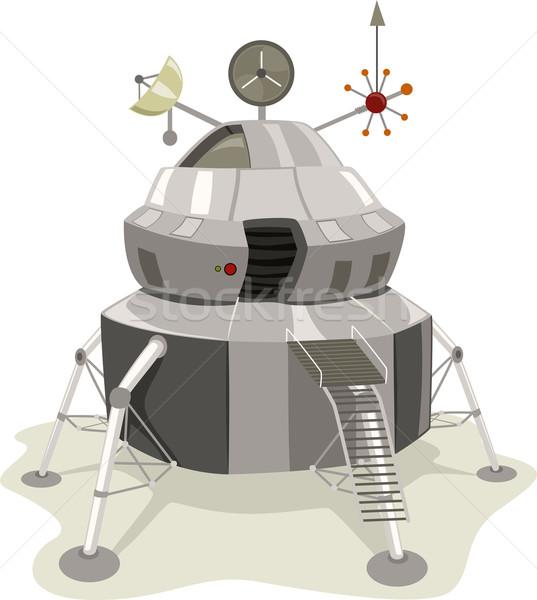 Space Lander Stock photo © lenm