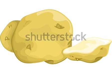 Potatoes Stock photo © lenm