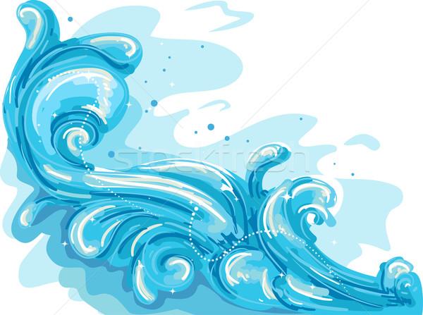 Sea Waves Stock photo © lenm