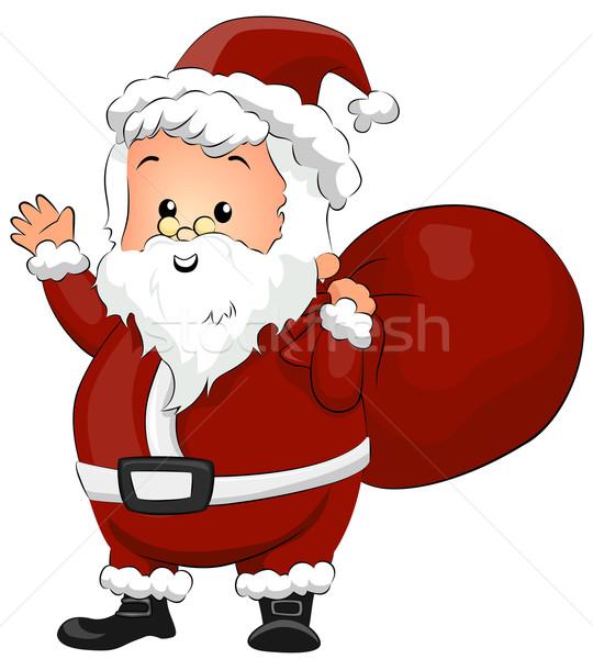 Santa Claus Stock photo © lenm