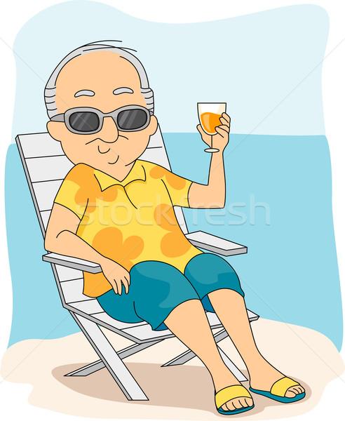 Retirement Vacation Stock photo © lenm