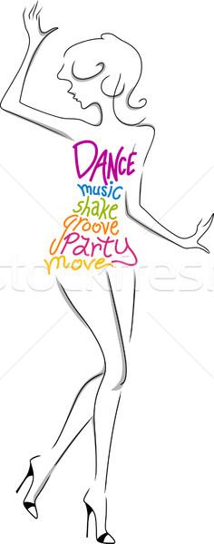 Female Dancer Stock photo © lenm