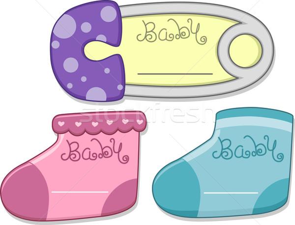 Baby Card Design Stock photo © lenm