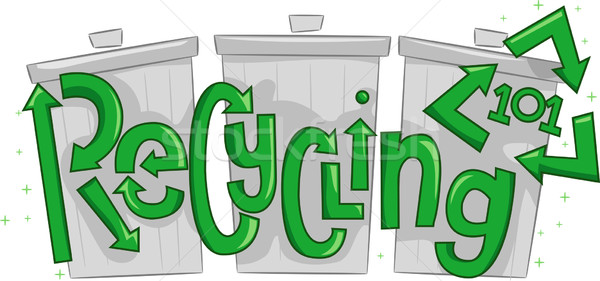Stock photo: Recycling 101