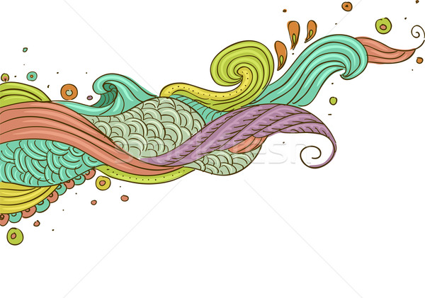 Abstract Swirls Stock photo © lenm