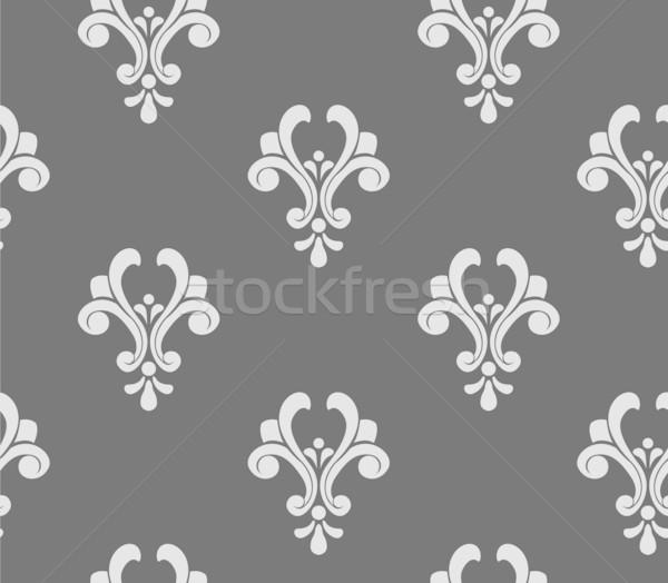 Végtelenített damaszt minta terv művészet tapéta Stock fotó © lenm