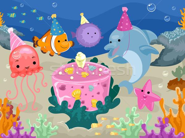 tiere · unterwasser · geburtstag · farbenreich