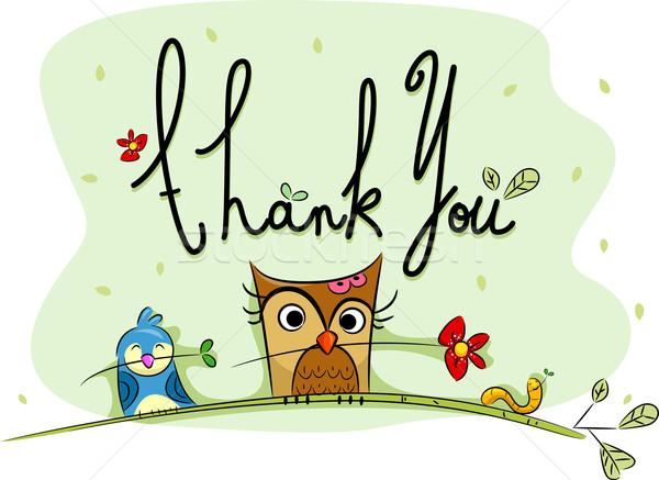 Thank You Card Stock photo © lenm
