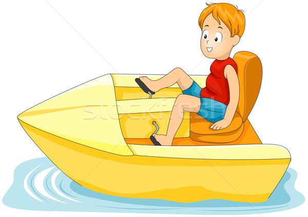 Pedal Boat Stock photo © lenm