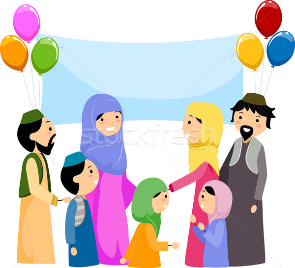 Eid al-Fitr Stock photo © lenm