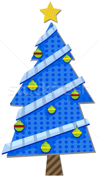 Christmas Tree Design Stock photo © lenm