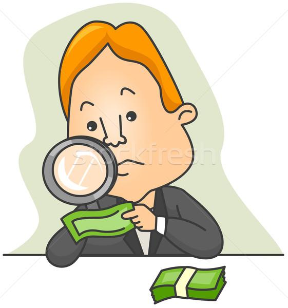 Anti-Counterfeiting Measures Stock photo © lenm