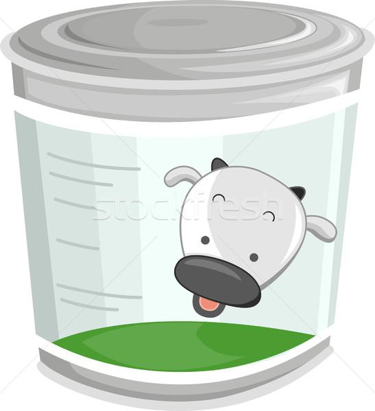 Milk Can Stock photo © lenm