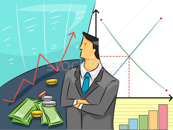 Economist Guy Stock photo © lenm