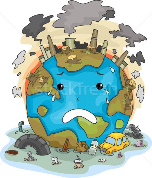 afforestation pollution