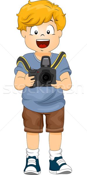Photography Boy Stock photo © lenm