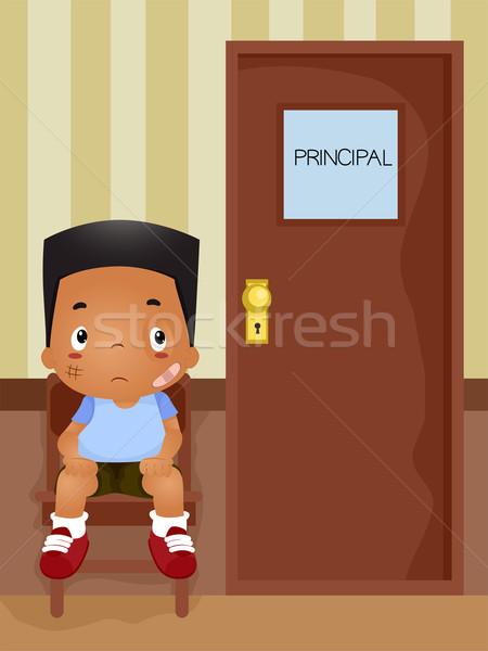Principal's Office Stock photo © lenm