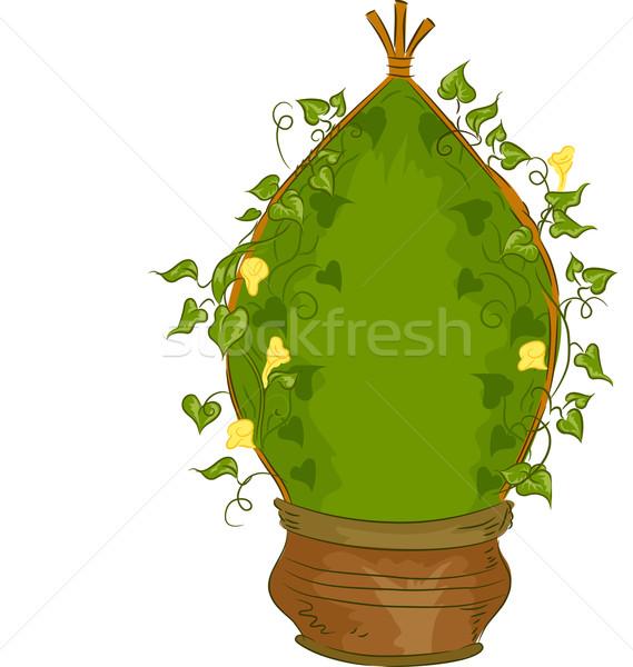 Jardim videira ilustração crescer planta Foto stock © lenm
