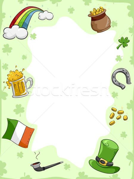 St. Patrick's Day Background Stock photo © lenm