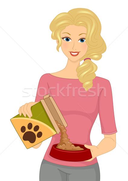 Dog Food Stock photo © lenm