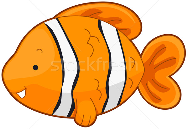 Clownfish Stock photo © lenm