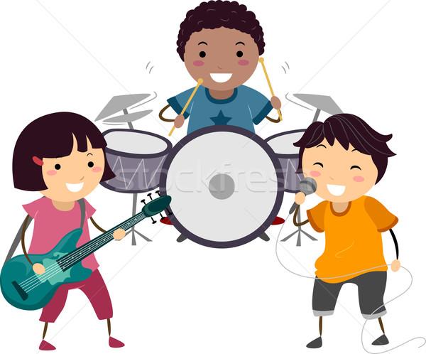 Kiddie Band Stock photo © lenm
