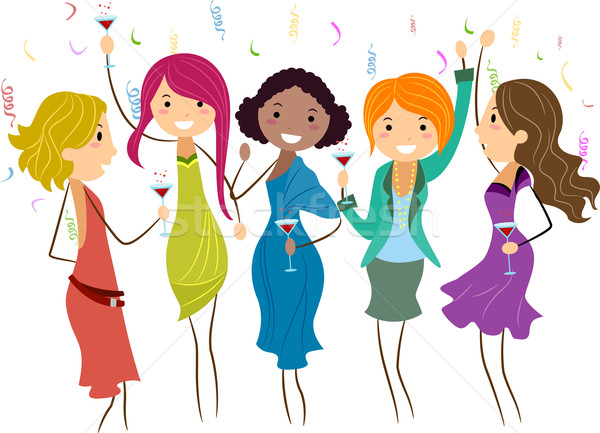 Stock photo: Bachelorette Party