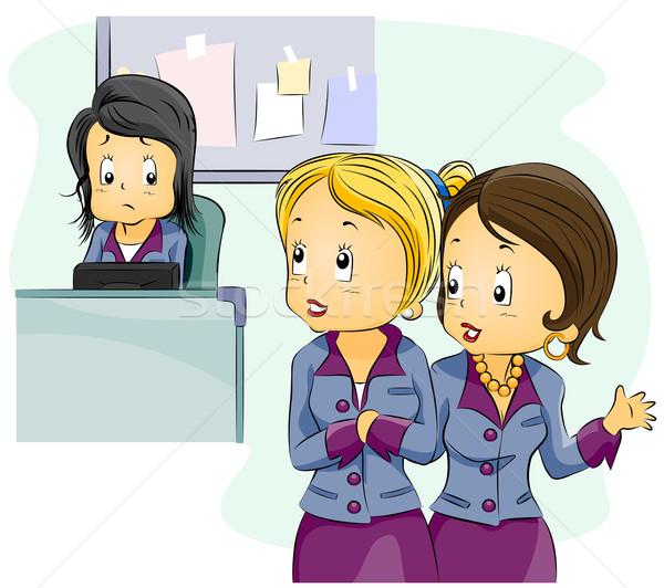 Office Gossip Stock photo © lenm