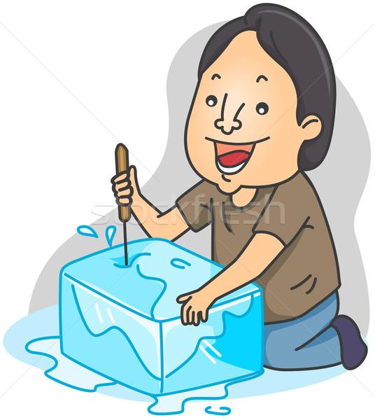 Ice Pick Stock photo © lenm