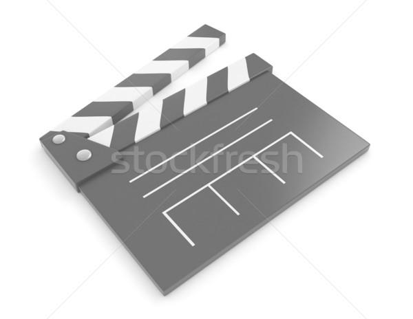 Conselho ilustração 3d filme trabalho diversão descobrir Foto stock © lenm