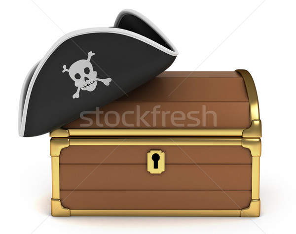Pirate Treasure Stock photo © lenm