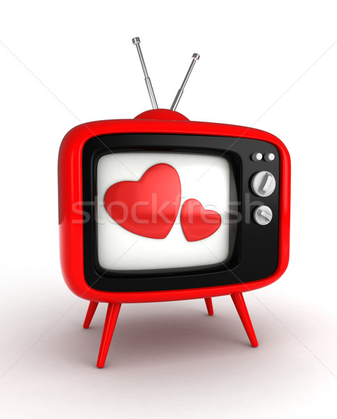 Love TV Show Stock photo © lenm