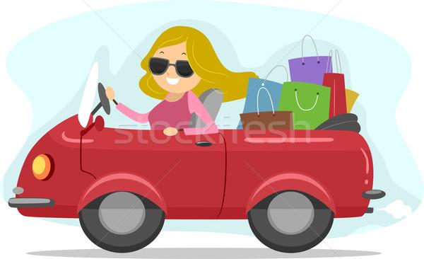 Shopping Spree Stock photo © lenm
