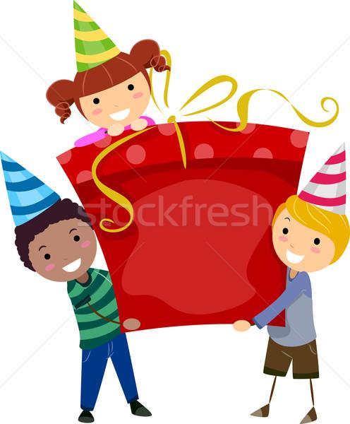 Birthday Gift Stock photo © lenm