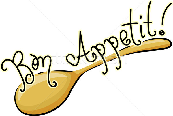 Bon Appetit Stock photo © lenm