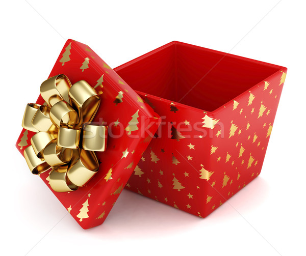Christmas Gift Stock photo © lenm