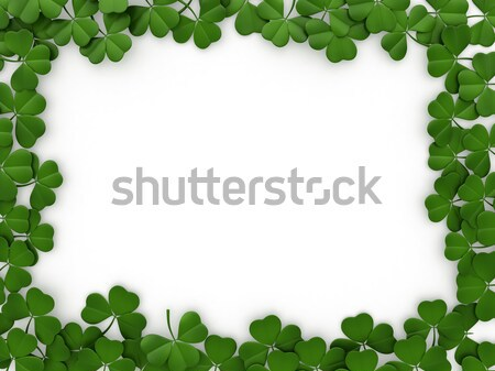 St. Patrick's Day Background Stock photo © lenm